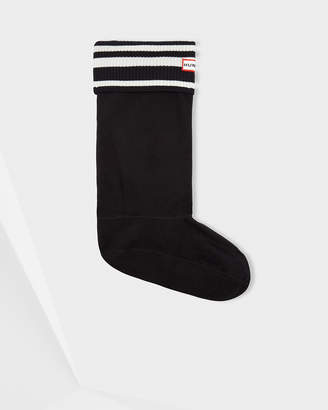 Hunter Unisex Original Garden Stripe Boot Socks
