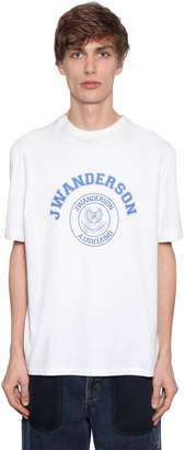 J.W.Anderson Printed Cotton Jersey T-Shirt