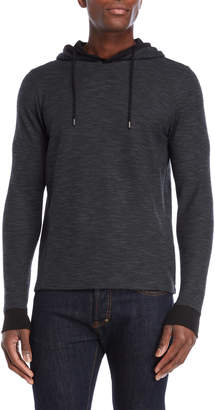 Ike Behar Charcoal Thermal Hoodie