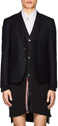 Thom Browne Men's High-Armhole Wool Three-Button Sportcoat