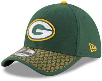 New Era Boys' Green Bay Packers 2017 Official Sideline 39THIRTY Cap