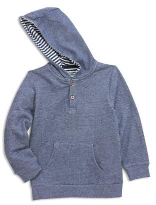 Sovereign Code Boys' Textured Henley Hoodie - Big Kid