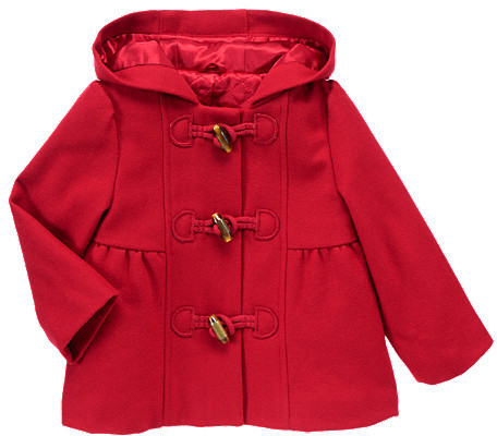 Gymboree Toggle Wool Blend Hooded Coat
