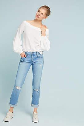 AG Jeans Nolan Mid-Rise Slim Boyfriend Jeans