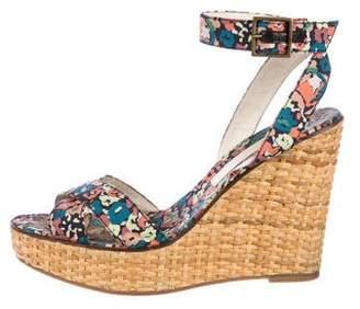 Marc Jacobs Nylon Wedge Sandals
