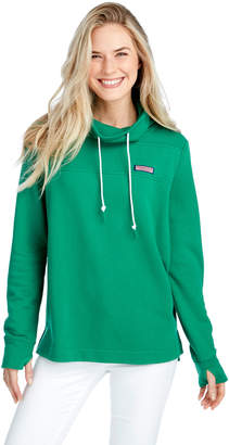 Vineyard Vines Collegiate Relaxed Funnel Neck Shep Shirt