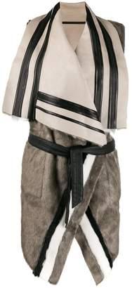 Urban Code Urbancode Ivy reversible faux-fur vest