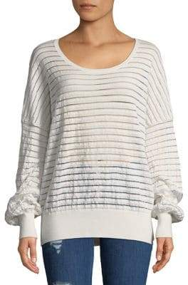 French Connection Astra Sheer Sweater