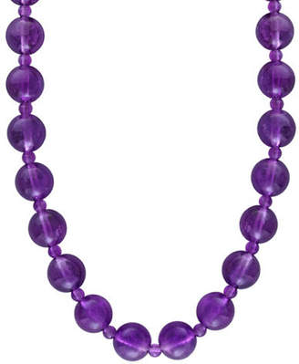 Effy 14K Yellow Gold 0.365 TCW Amethyst Necklace