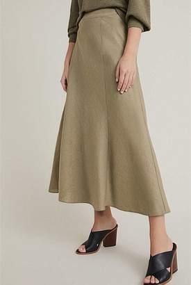 Witchery A-Line Linen Skirt