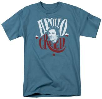Rocky MGM Movie Apollo Creed Sign Adult Mens T-Shirt Tee