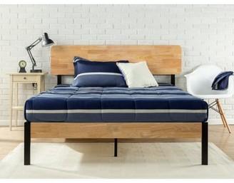 Zinus Olivia Metal & Wood Platform Bed with Wood Slat Support, Multiple Sizes