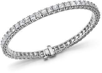 Bloomingdale's Princess-Cut Diamond Tennis Bracelet in 14K White Gold, 10.20 ct. t.w. - 100% Exclusive