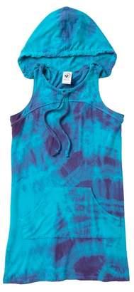 Limeapple Tie Dye Swim Cover Up (Little Girls & Big Girls)