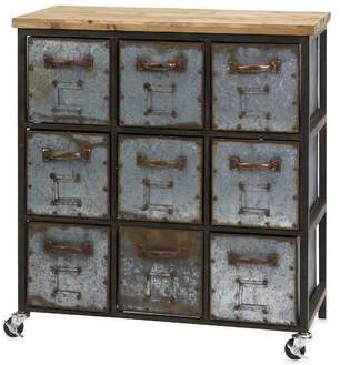17 Stories Shirleen 9 Drawer Accent Chest 17 Stories