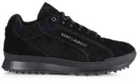 Saint Laurent Jump Leather Low-Top Sneakers