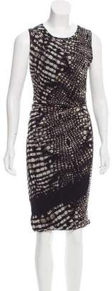 Fuzzi Printed Sheath Dress
