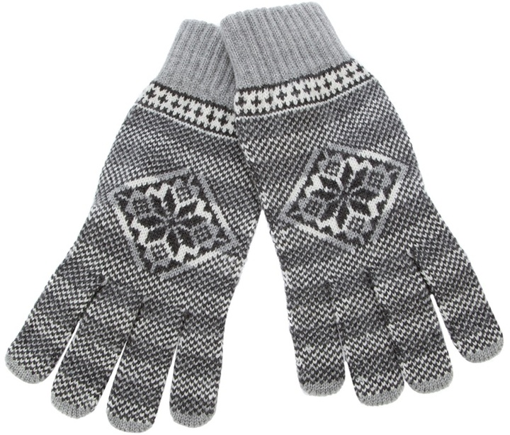 Gladys & Pixie Nordic knit gloves