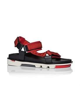 Emporio Armani Sport Sandal W/ Xl Sole And Pop Straps
