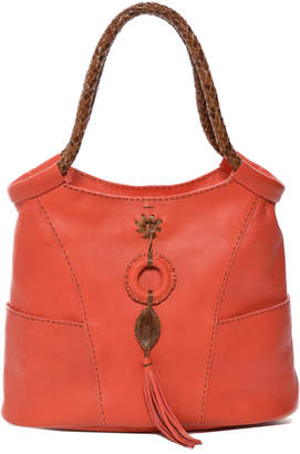 Carla Mancini Suede Shoulder Bag