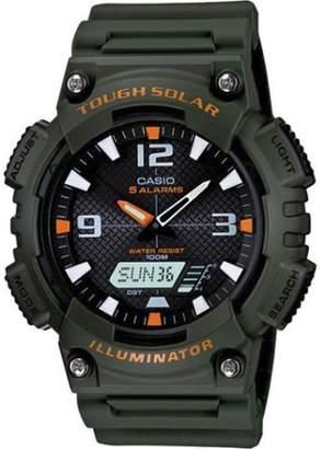 Casio Men's Solar Sport Combination Watch, Green