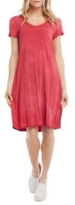 Karen Kane Vintage Wash Olivia T-Shirt Dress