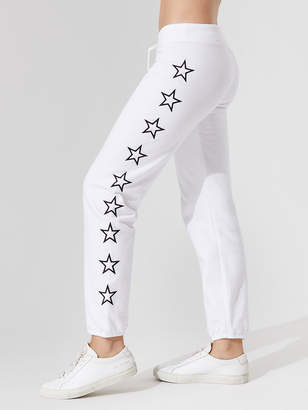 Monrow Vintage Sweats w/ Outline Star Embroidery