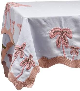 L'OBJET x Haas Brothers Joshua Tree table cloth Blue