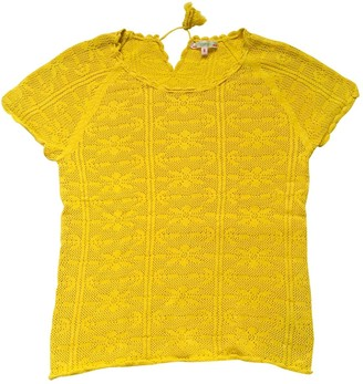 Bonpoint Yellow Cotton Top for Women