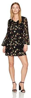 Tahari by Arthur S. Levine Women's Petite V-Neck Sheath Dress