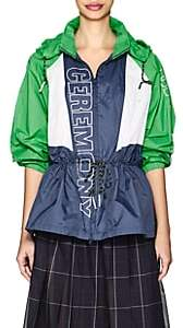 Opening Ceremony WOMEN'S LOGO COLORBLOCKED ANORAK - BLUE SIZE XS