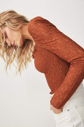 Cotton On Eden Long Sleeve Lace Top