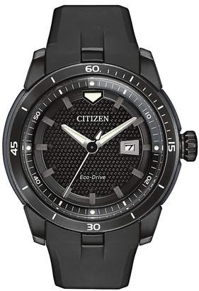 Citizen Men's Eco-Drive Stainless Steel Ion Plated Ecosphere Strap Watch