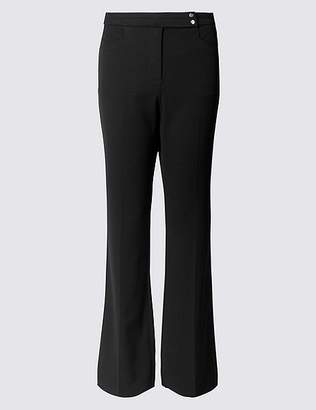 Marks and Spencer Slim Flared Trousers