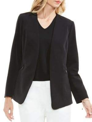 Vince Camuto Solid Open-Front Blazer