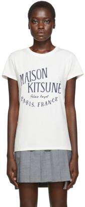 MAISON KITSUNÉ Off-White Palais Royal T-Shirt
