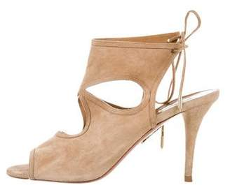Aquazzura Sexy Thing Wrap-Around Pumps
