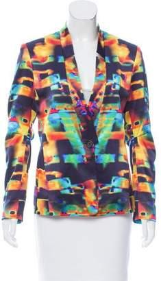 Zero Maria Cornejo Printed Silk Blazer