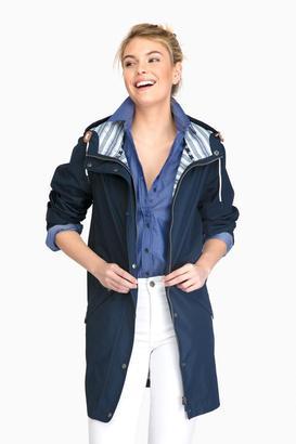 Barbour Barbour® Navy Pegmatite Jacket $299 thestylecure.com