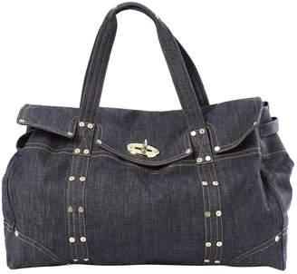 Mulberry Blue Cloth Bag