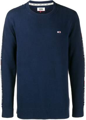 Tommy Jeans logo embroidered sweater
