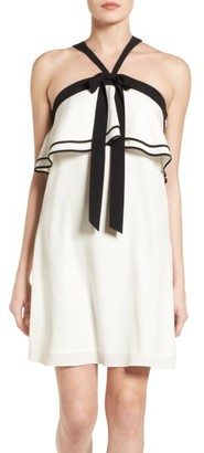 Women's Cece Popover Shift Dress $138 thestylecure.com