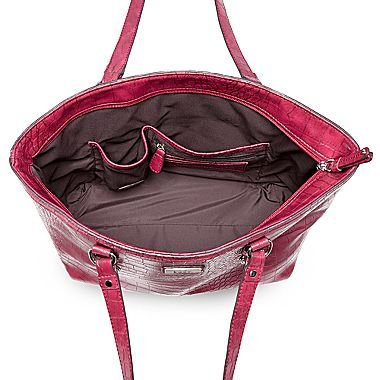 JCPenney 9 & Co.® Wild Mannered Midsize Tote