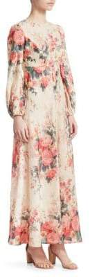 Zimmermann Laelia Floral Maxi Dress