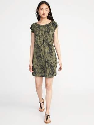 Old Navy Jersey Flutter-Sleeve Swing Dress for Women