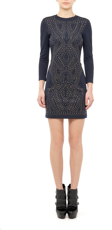 Nicole Miller Harmony Heat Ponte Dress