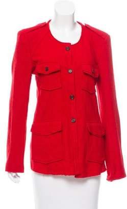 Etoile Isabel Marant Wool Button-Up Jacket