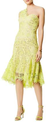 Karen Millen One-Shoulder Lace Dress