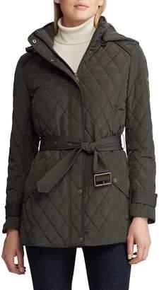 Lauren Ralph Lauren Single Breasted Quilted Jacket