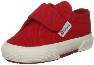 Superga Unisex Kids' 2750 Bvel Low-Top Sneakers, (Red), 5
